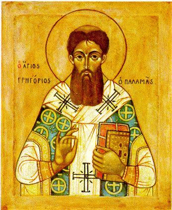 icone orthodoxe de saint Gregoire Palamas