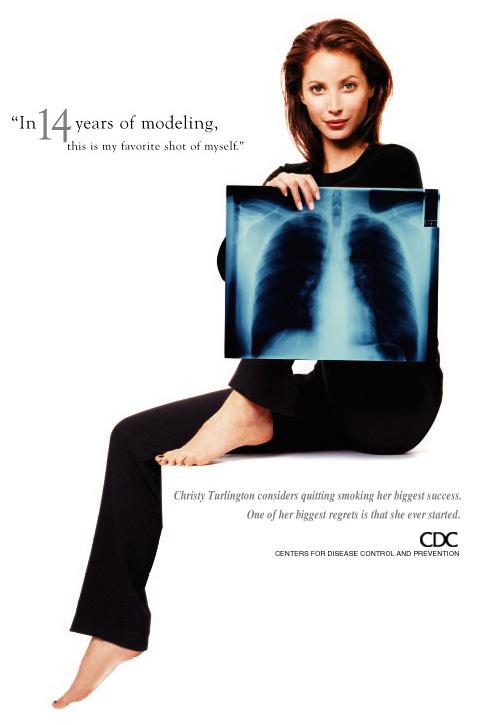 Christy Turlington and Smoking