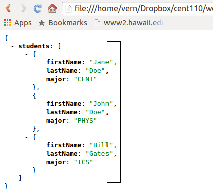 Javascript read json file to array | How to get JSON data