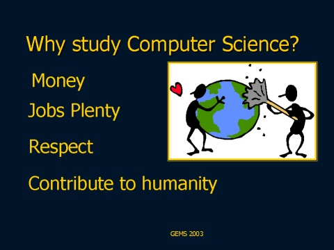 why computer science college essay